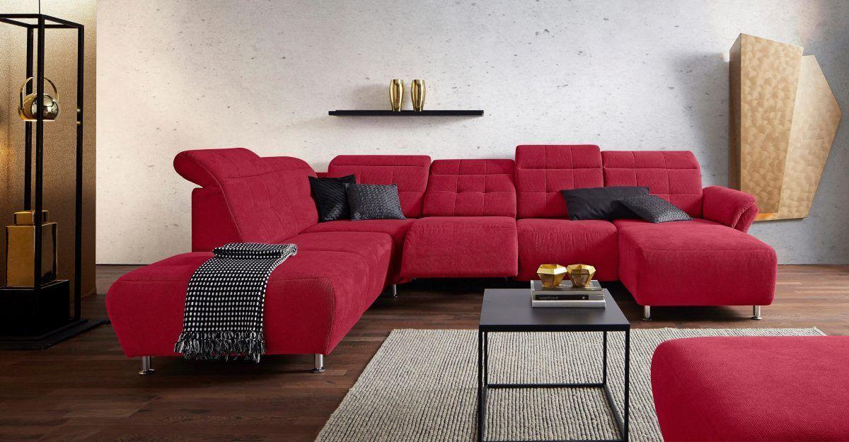 Wohnlandschaft Mit Elektrischer Relaxfunktion Rot Ottomane Links Manhattan Fsc Zertifiziert Places Of Style Jetzt Bestel Wohnen Wohnlandschaft Haus Deko