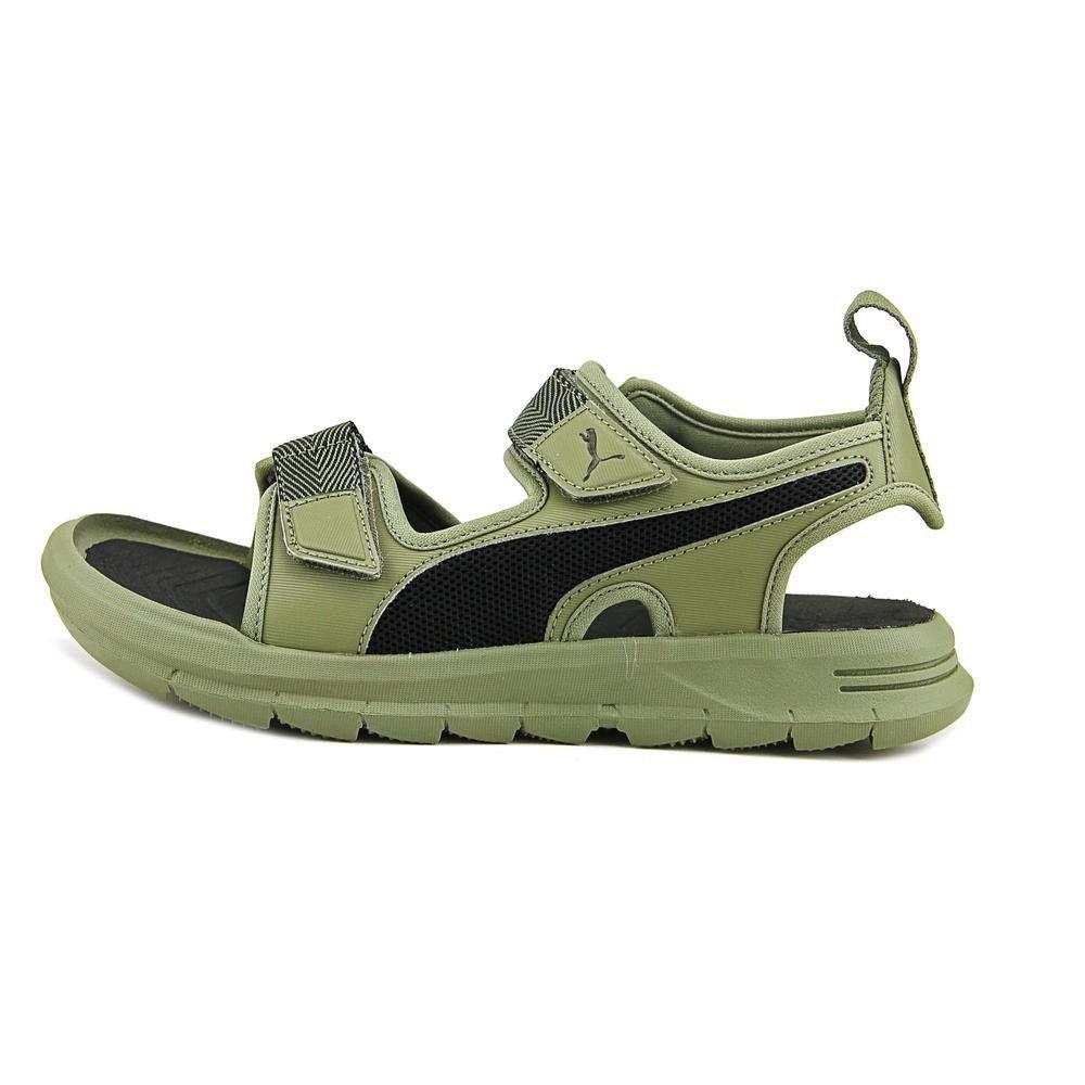Puma Wild Sandal Plus Youth US 4 Green
