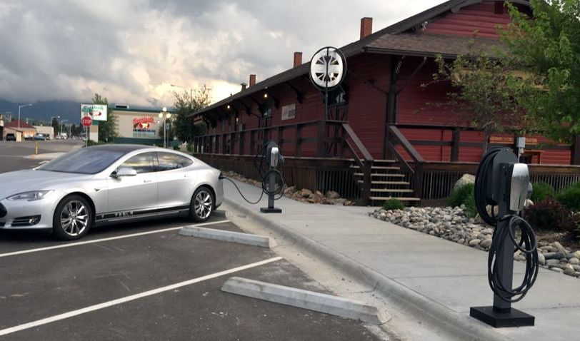 Red Lodge adds charging stations for electric cars