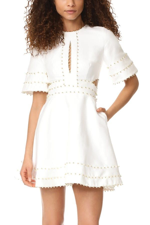 97a19d2fa974 29 Little White Dresses to Wear Everywhere This Summer via  PureWow