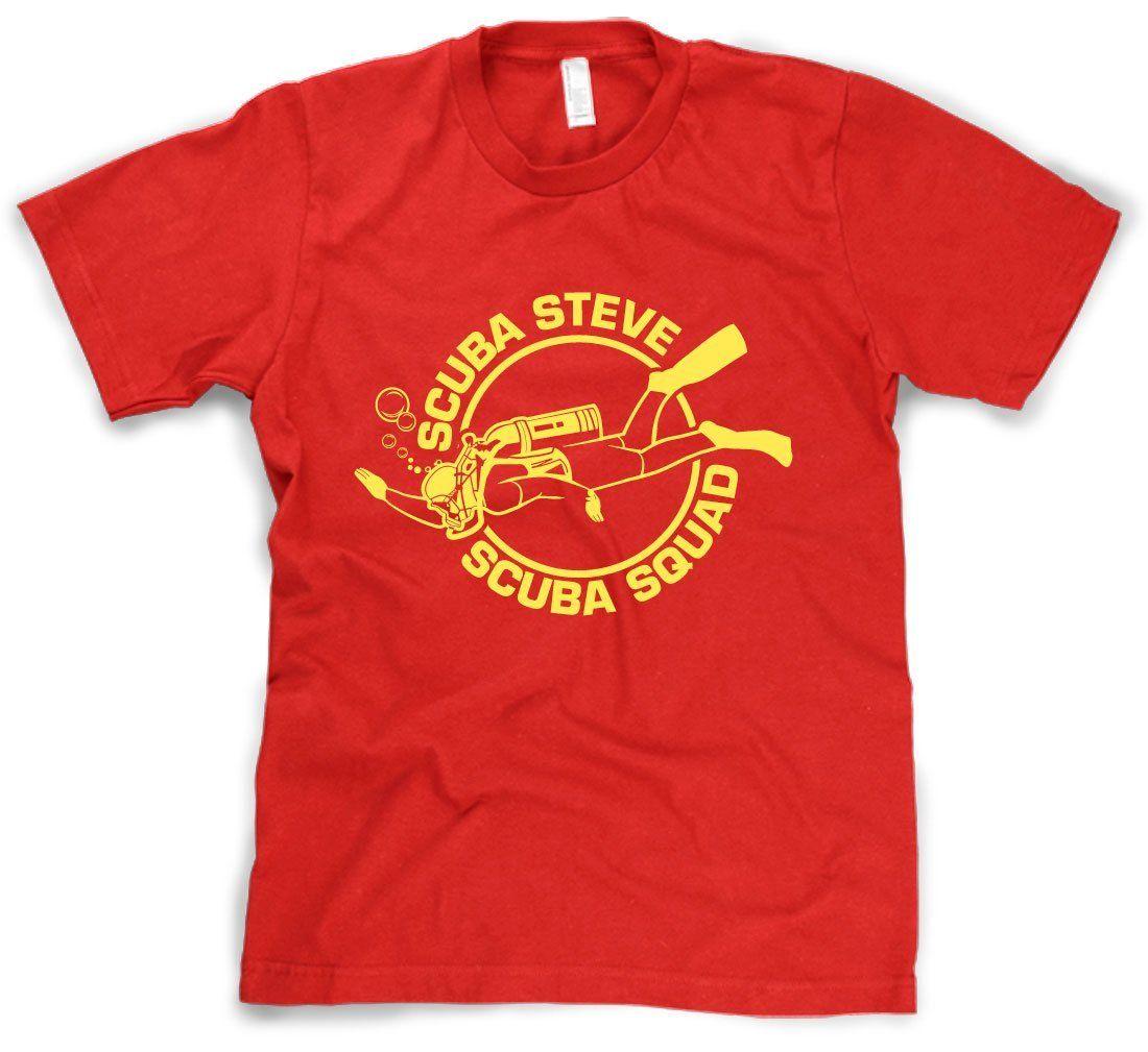 ae4565e774bf50 Scuba Steve Scuba Squad T-Shirt Funny Diving Shirt