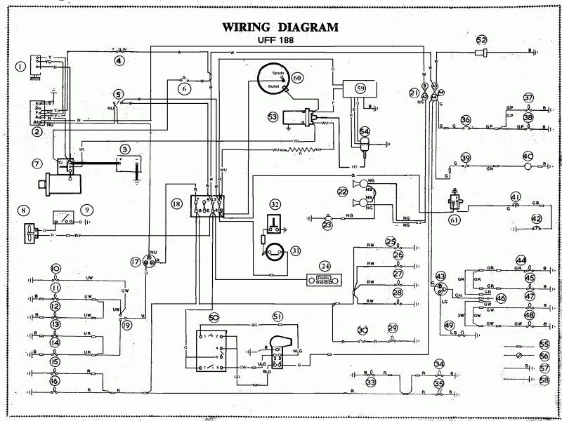 free auto electrical wiring diagrams  automotive fuse box