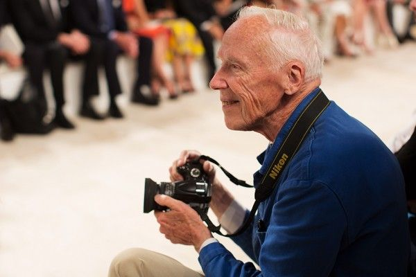 On the Scene....Bill Cunningham at Ralph Lauren, New York    -Love it when someone actually gets a shot of him! : )