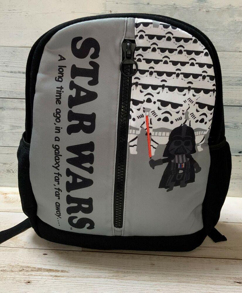 Star Wars Darth Vader Logo Leather Sports Messenger School Backpack Bag