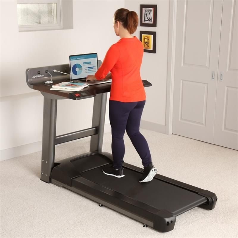 Life Fitness Treadmill Desk Walking Workstation