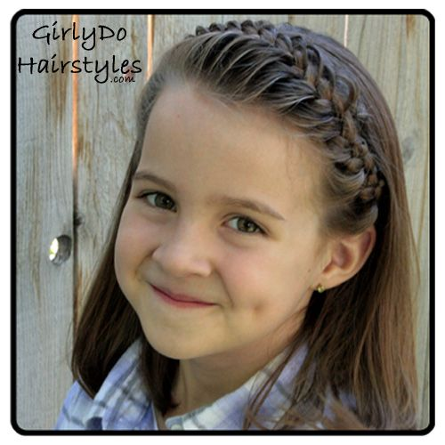 Puffy Headband Braid. Video tutorial included