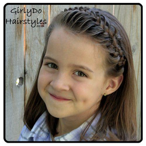 Do a Girly Do! Puffy Headband Braid Tutorial | How Does She...