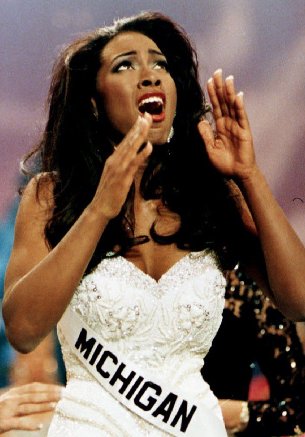 Style Throwback Miss USA Pageant, Kenya moore, Beauty