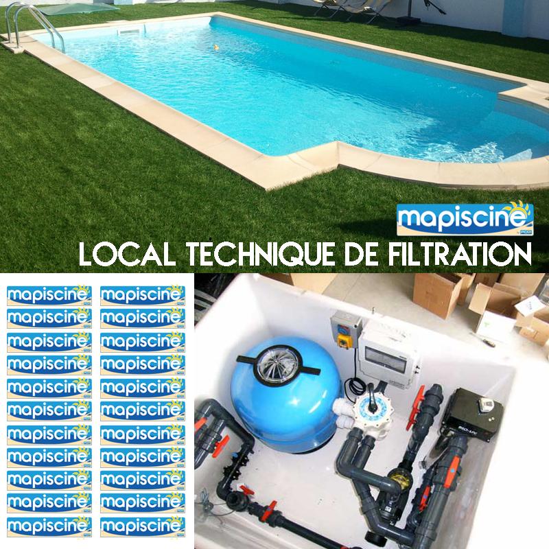 Le syst me de filtration avec local technique est - Changer le sable d un filtre piscine ...
