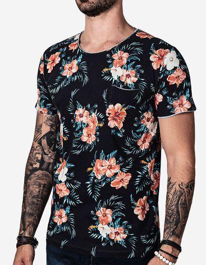 00be9424c Camisetas estampadas e florais garbosas. Pólos e camisas masculinas ...
