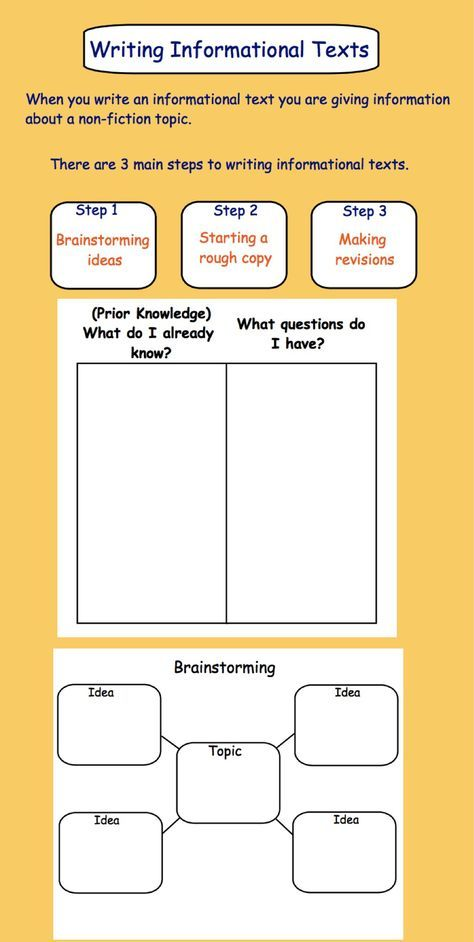 Writing an Informational Text Gr  3-4       How to write an