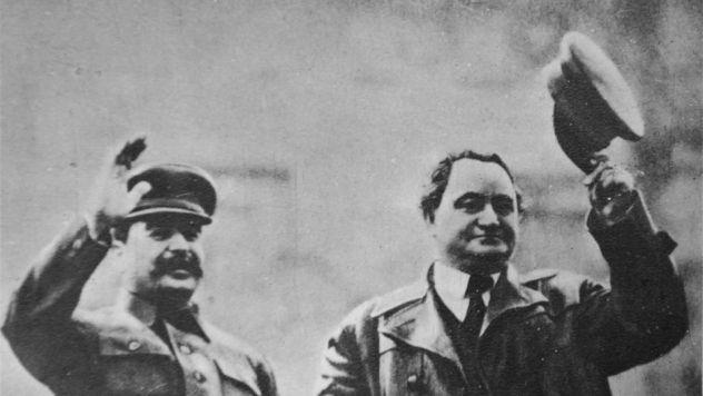 Stalin and Dimitrov.