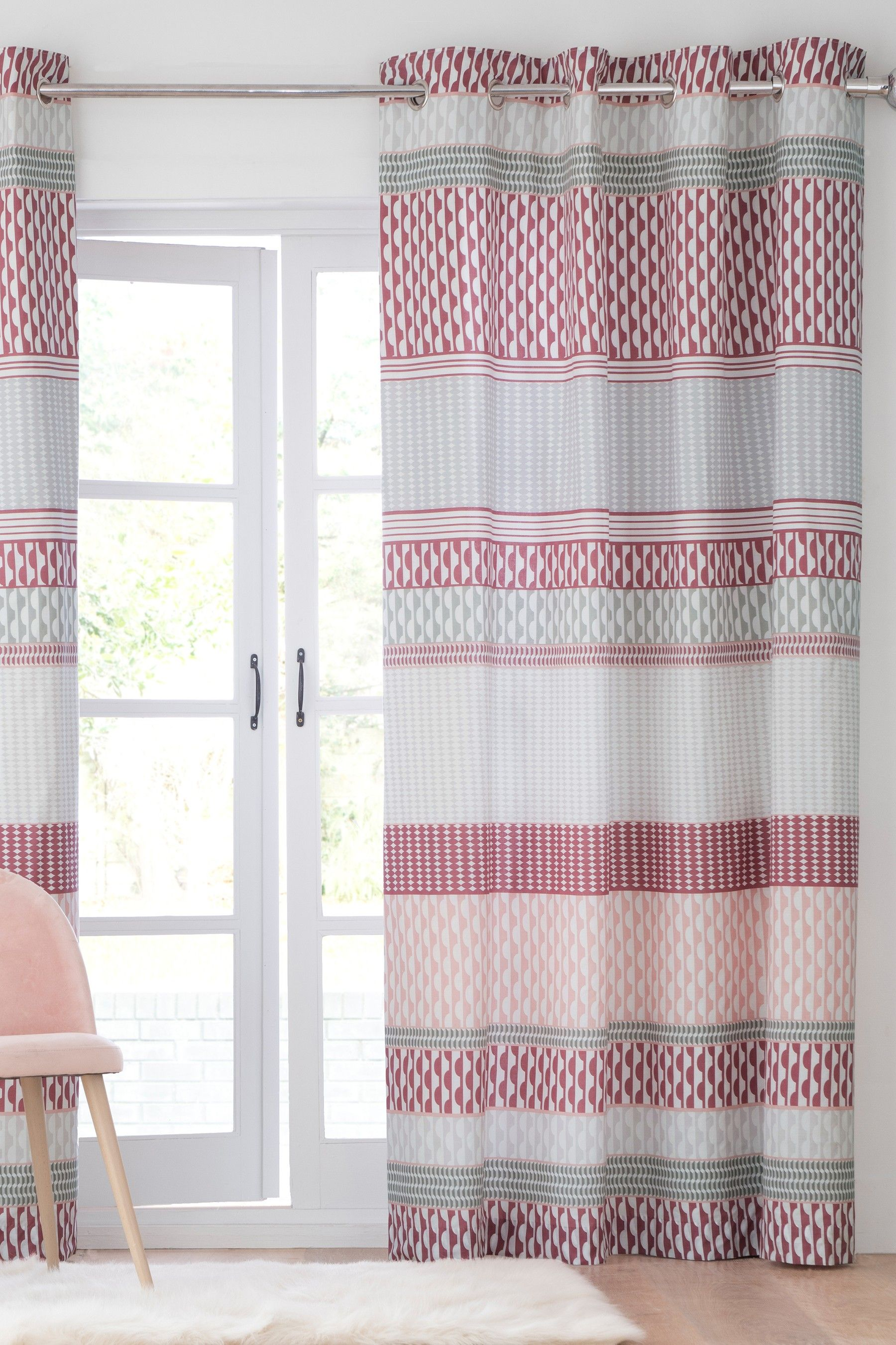 Pin By Sandy William On Rooms Curtains Pink Curtains Bedroom Decor