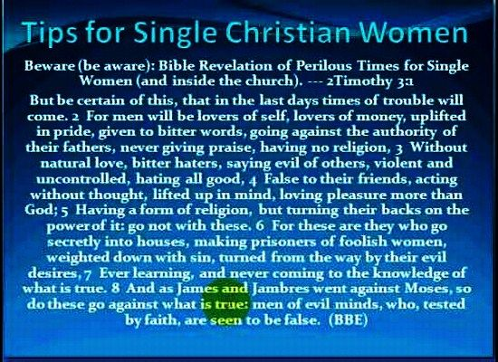 Christian dating advice for men