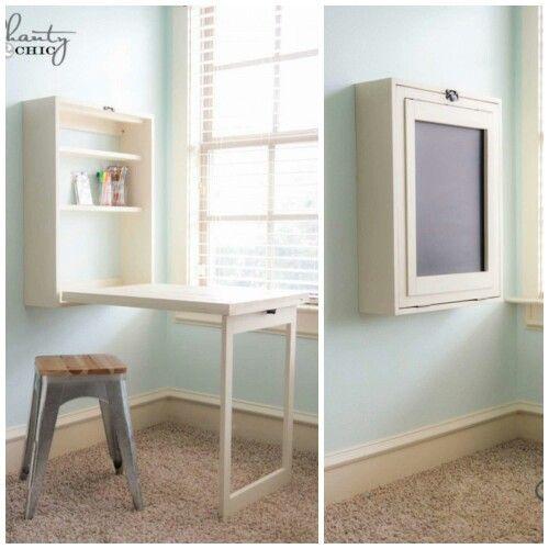 Hide Away Desk Craft Table Diy Diy Computer Desk Craft Table
