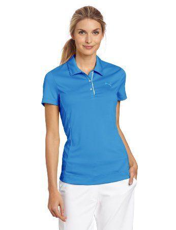 64f65b3ec Amazon.com : Puma Golf NA Women's Tech Short Sleeve Polo Tee : Golf Shirts  : Sports & Outdoors