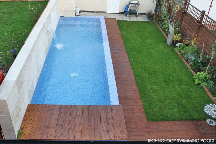 Gallery For Small Swimming Pool In Garden Pools Pinterest