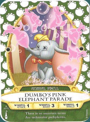 Dumbo's Pink Elephant Parade