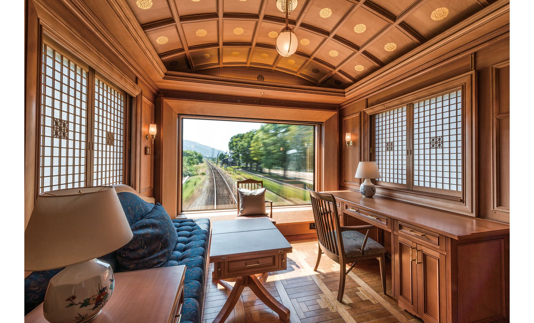 Pictures luxury train suites and cabins train journey