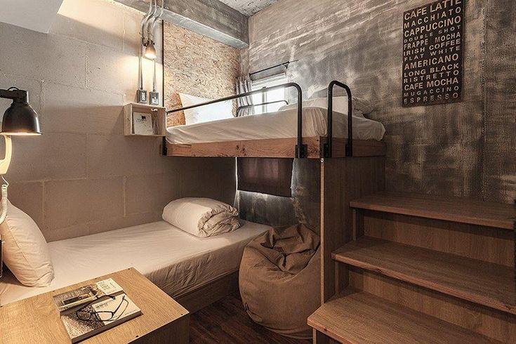 Pl Interior Design Recycles Materials To Create Hostel In Taiwan Hostels Design Interior Hostel Room