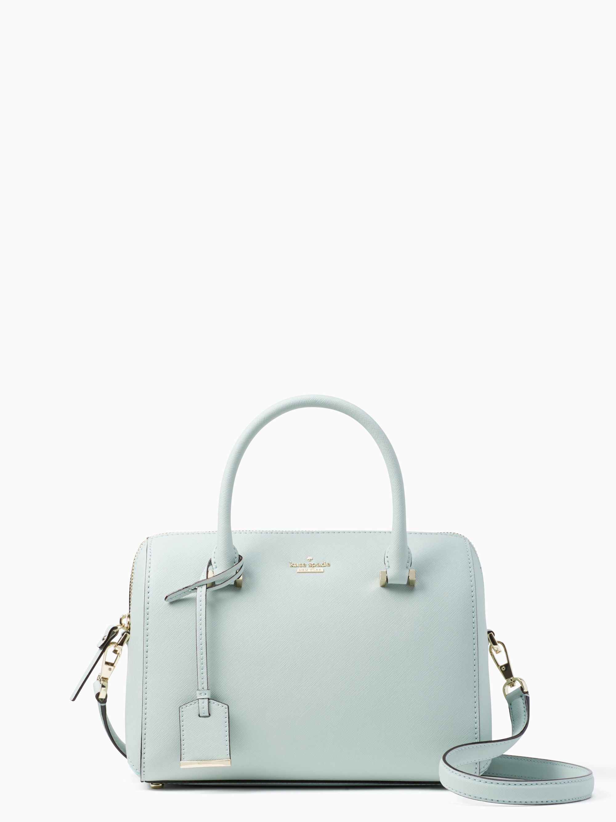 b407bc58c5 Kate Spade Cameron Street Large Lane Satchel Crossbody Misty Mint