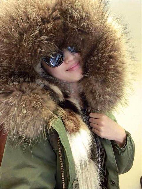 Toasty fur hood