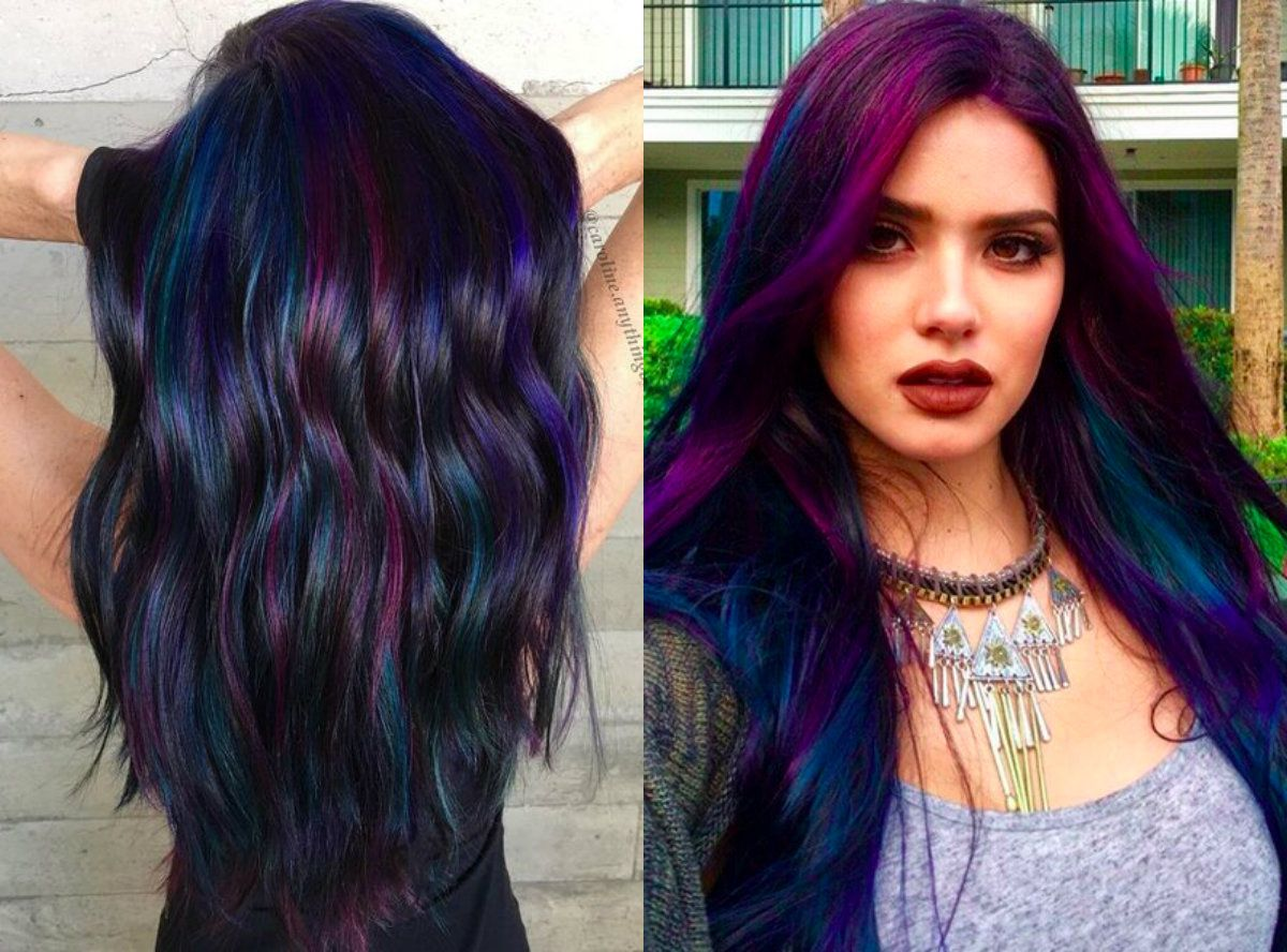 Fun Dark Hair Colors Hair Color Ideas And Styles For 2018