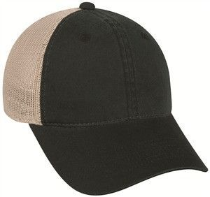 9b4300346f9 Platinum Series Heavy Cotton Front Mesh Back Cap