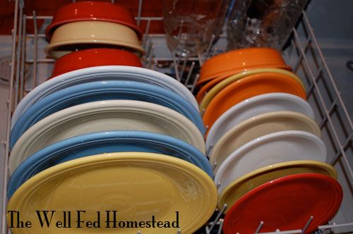 Fiestaware even makes unloading the dishwasher more fun--like having a rainbow in the & Fiestaware even makes unloading the dishwasher more fun--like having ...