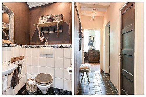 Binnenkijken bij jannie woonhuis toilet