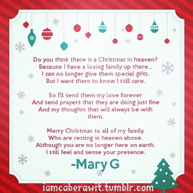 This is a graphic of Merry Christmas From Heaven Poem Printable intended for baby loss