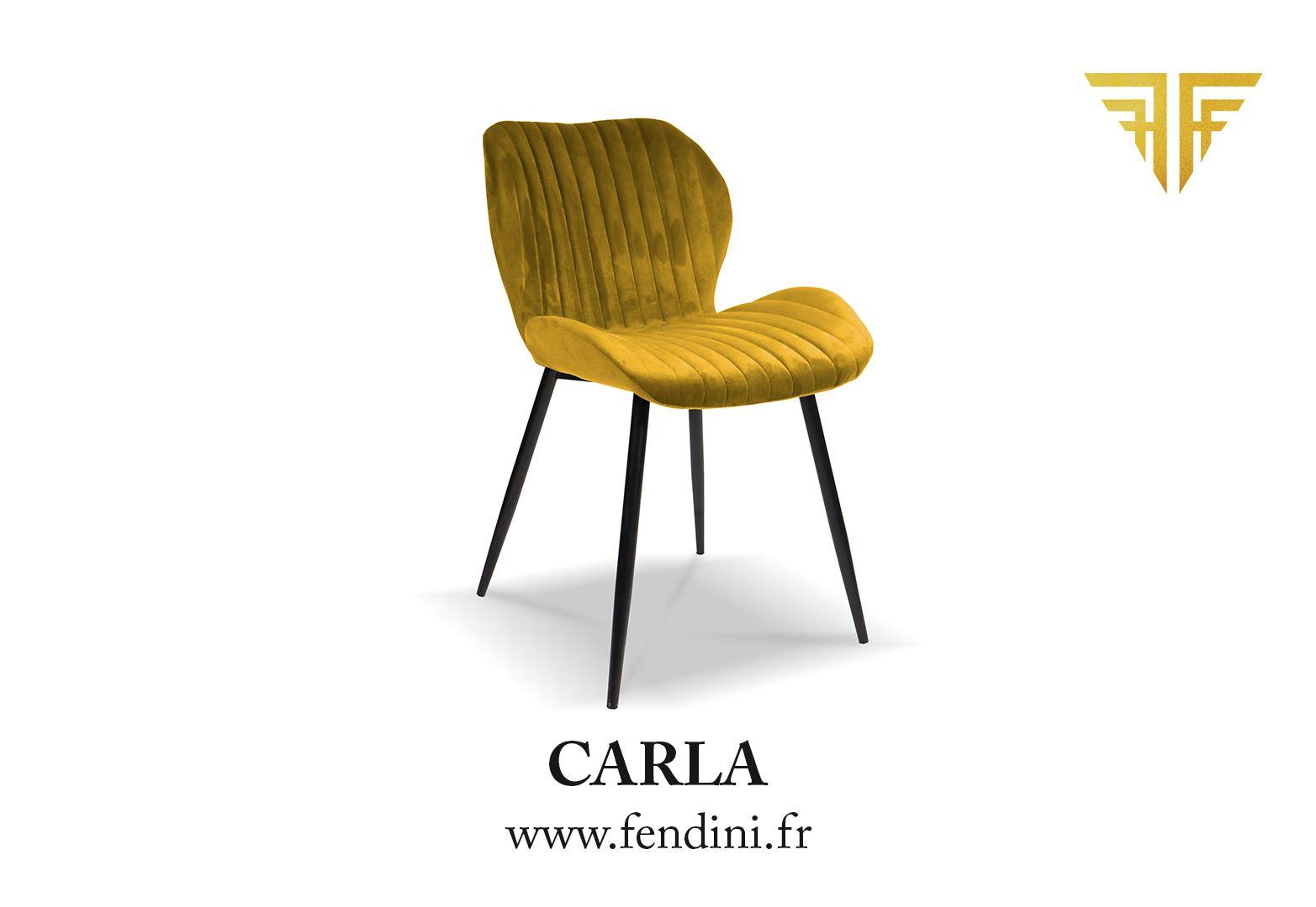 Chaise Velours Carla Jaune Moutarde By Fendini Disponible En Plusieurs Coloris Fendini Fendinihome Design Concept Designe Chaise Retro Chic Deco Addict