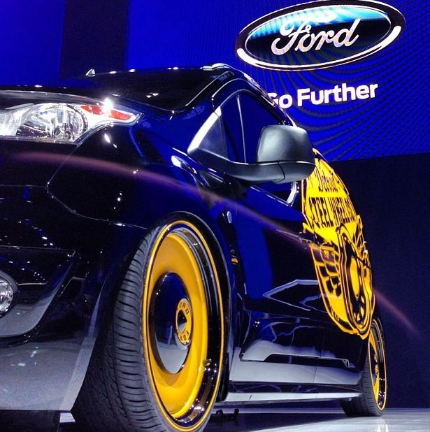 Sema 2013 took home the people's choice from the Ford booth!
