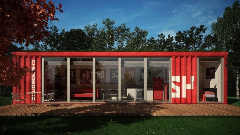 Storage Crate Houses 50 shipping container homes you won't believe | storage ideas