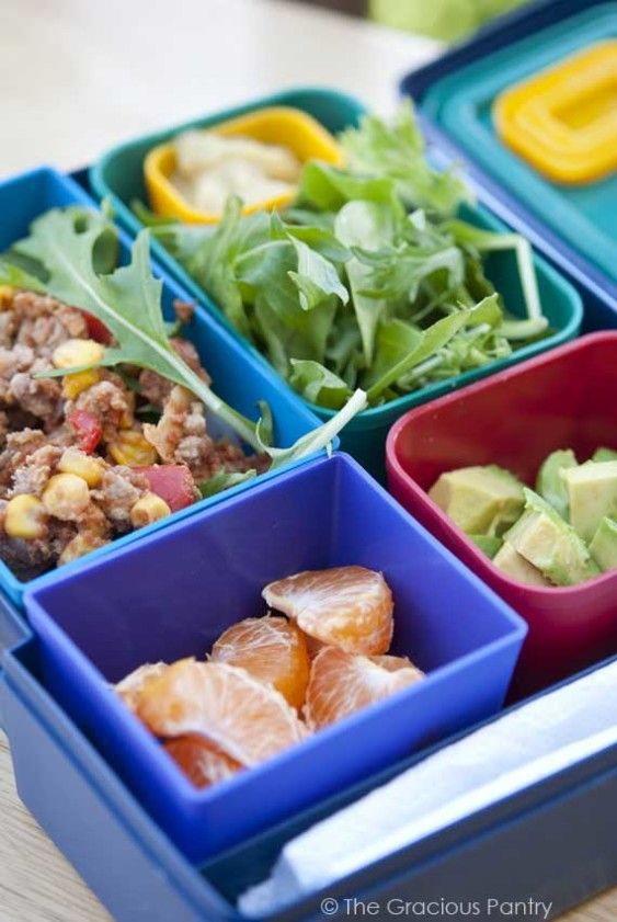 Clean Eating Laptop Lunches Lunch