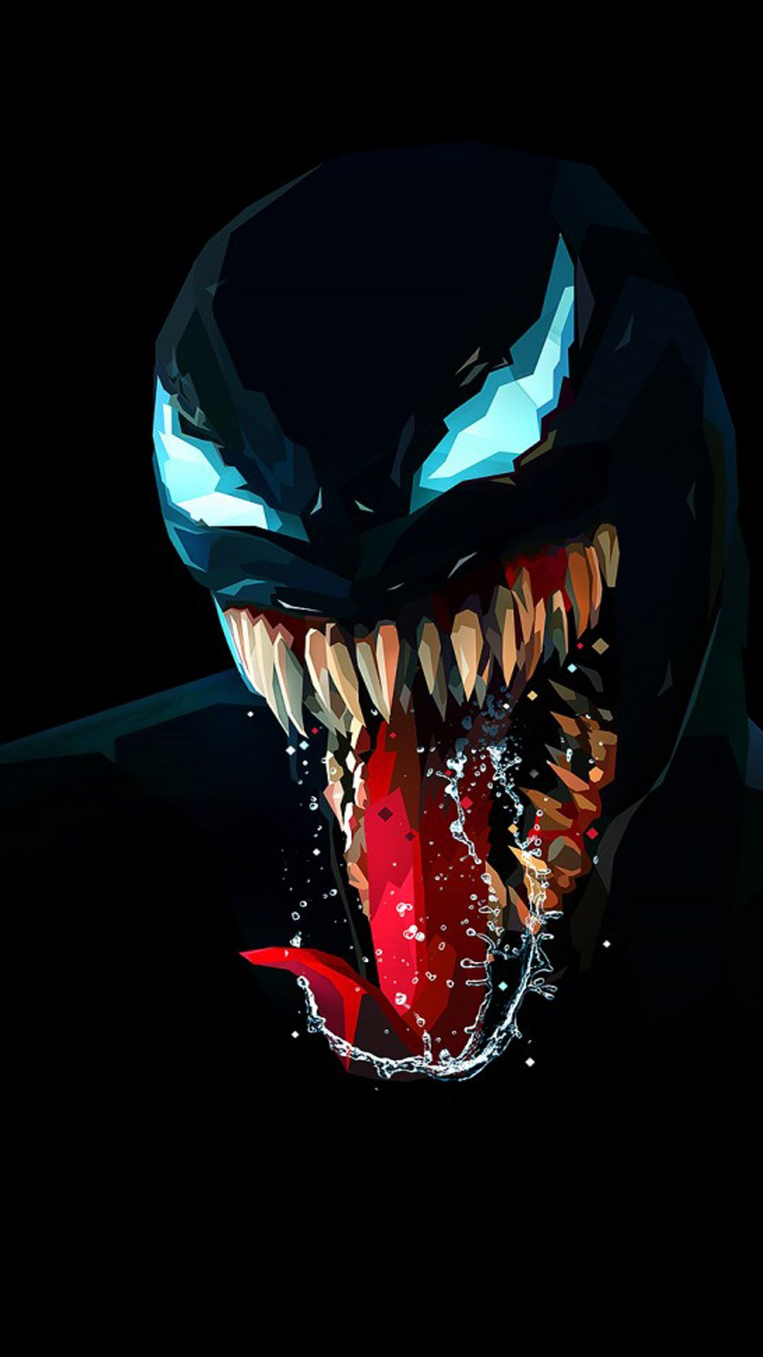 Venom Artwork Minimal Dark Background 4k Ultra Hd Mobile Wallpaper In 2020 Marvel Venom Marvel Wallpaper Avengers Wallpaper