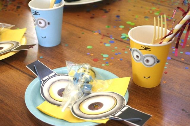 "Photo 1 of 20: Minions / Birthday ""Minion (Despicable Me) Party"" 