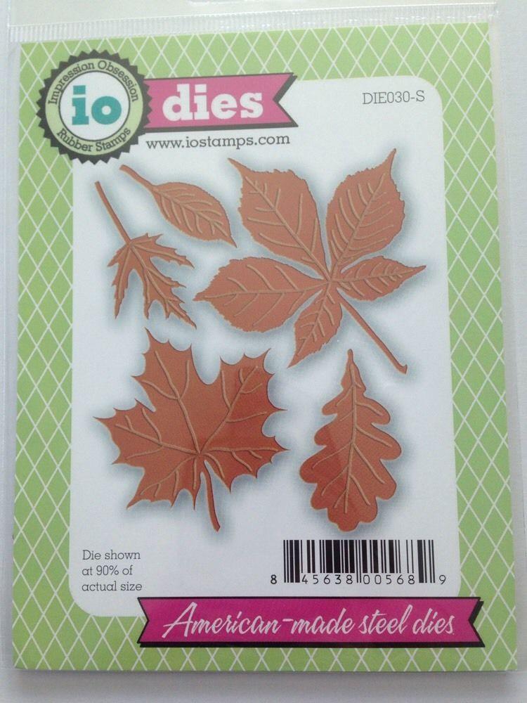 Leaf Maple Oak Fall Leaves set Dies...to die for metal cutting craft die