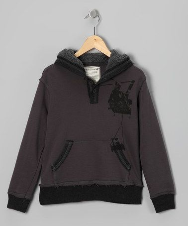 Take a look at this Gray Dale Hoodie - Toddler & Boys by Alpha Industries on #zulily today!