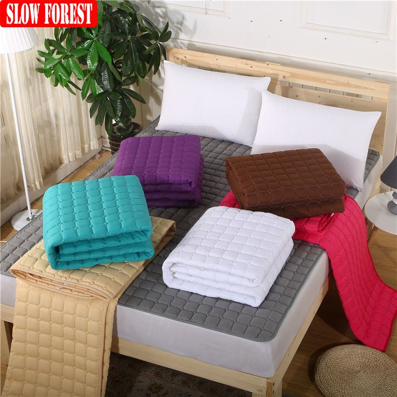 Slow Forest Washed Fold Cotton Tatami Mattress Double