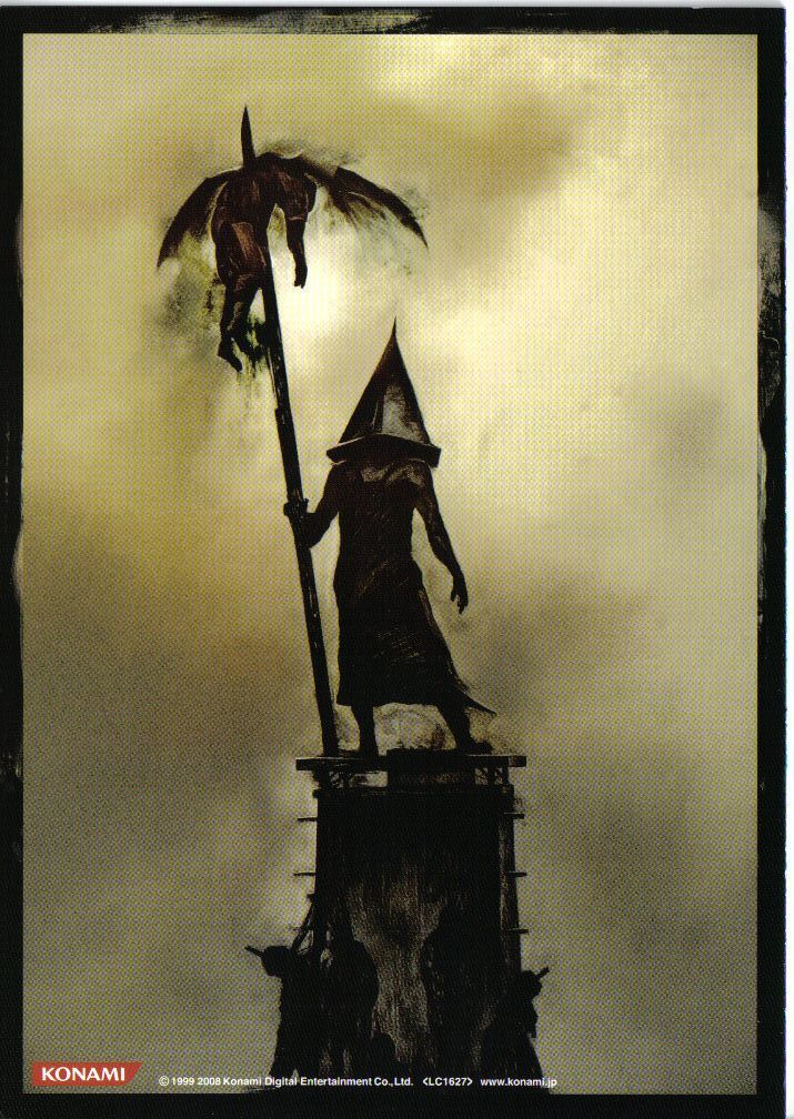 Pyramid Head From The White Hunter Belyj Ohotnik Silent Hill