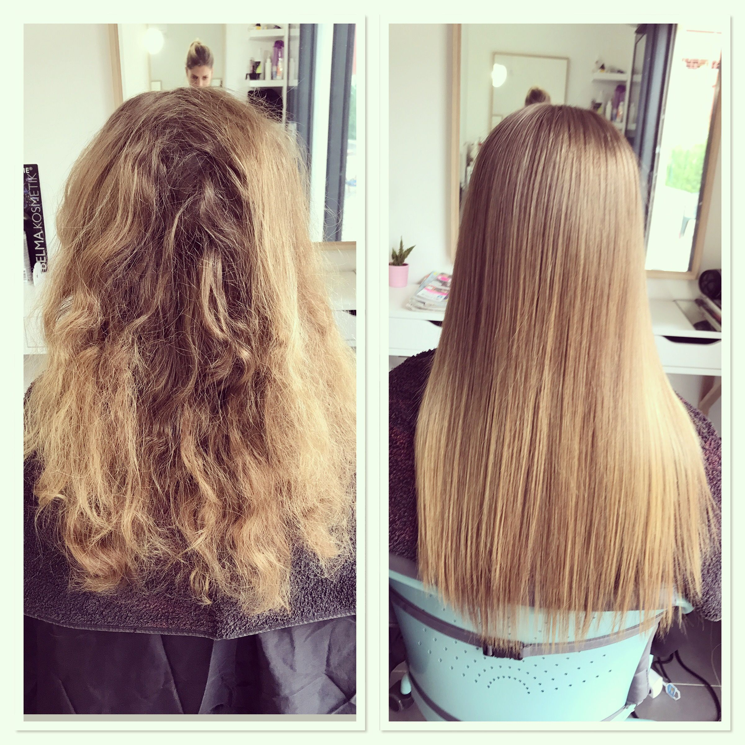 Teinture cheveux keratine