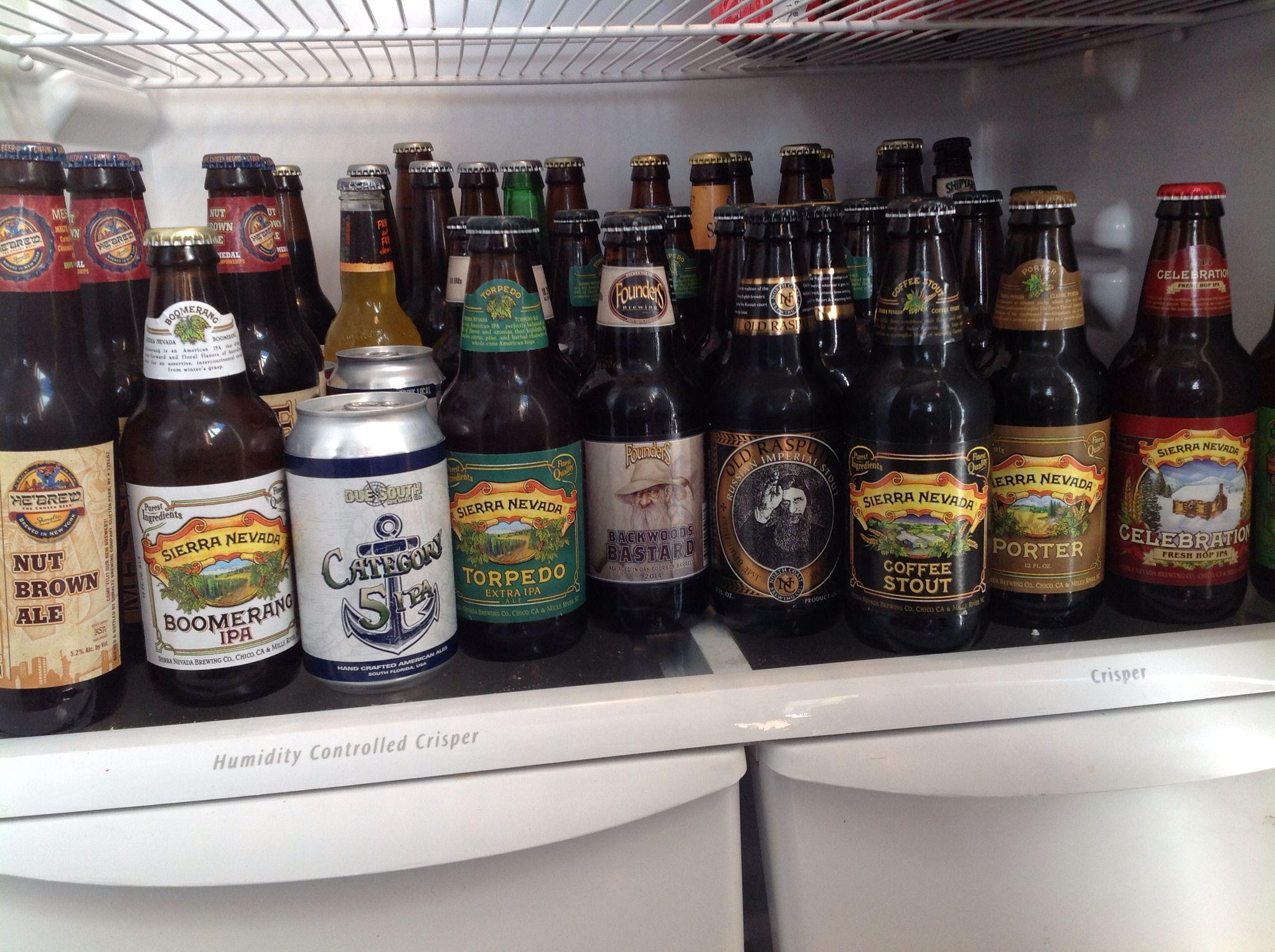 Happiness Is A Full Beer Fridge Beer Fridge Beer Craft Beer