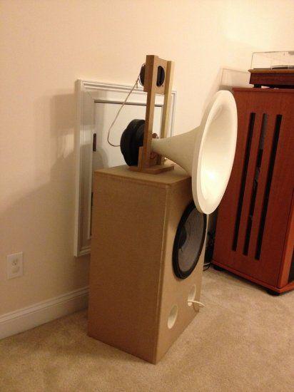 JBL 2226J, 2445J, 2405 250 Hz Tractrix Horn build   Horns in