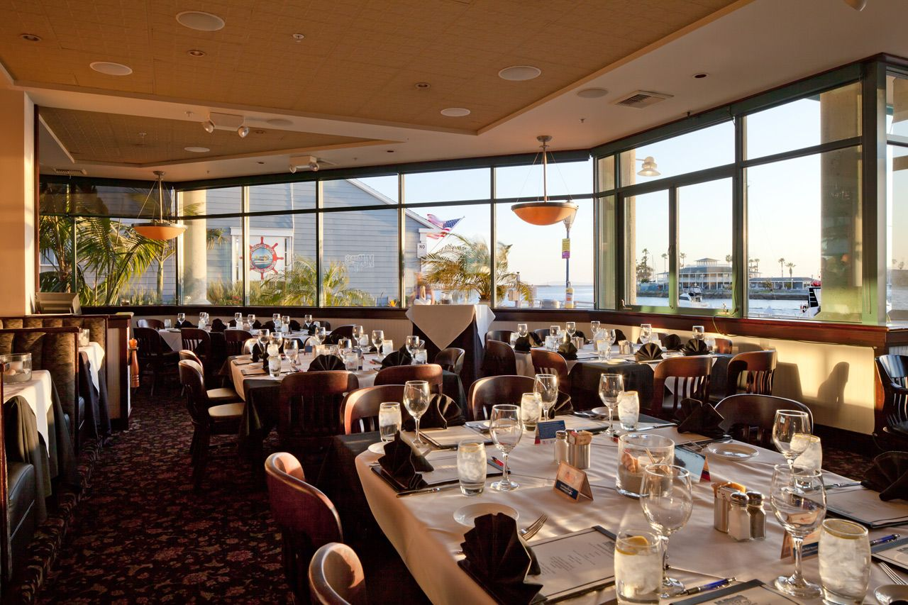 The Boathouse On The Bay A Fine Dining Restaurant In Long Beach Sushi And