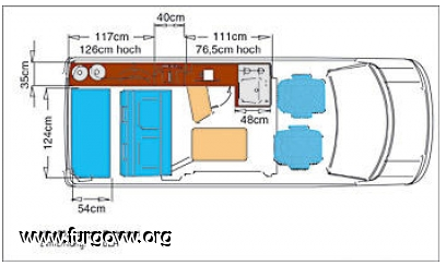 Medidas Planos Mueble Lateral Y Muebles De Bricos Vw Y Furgos