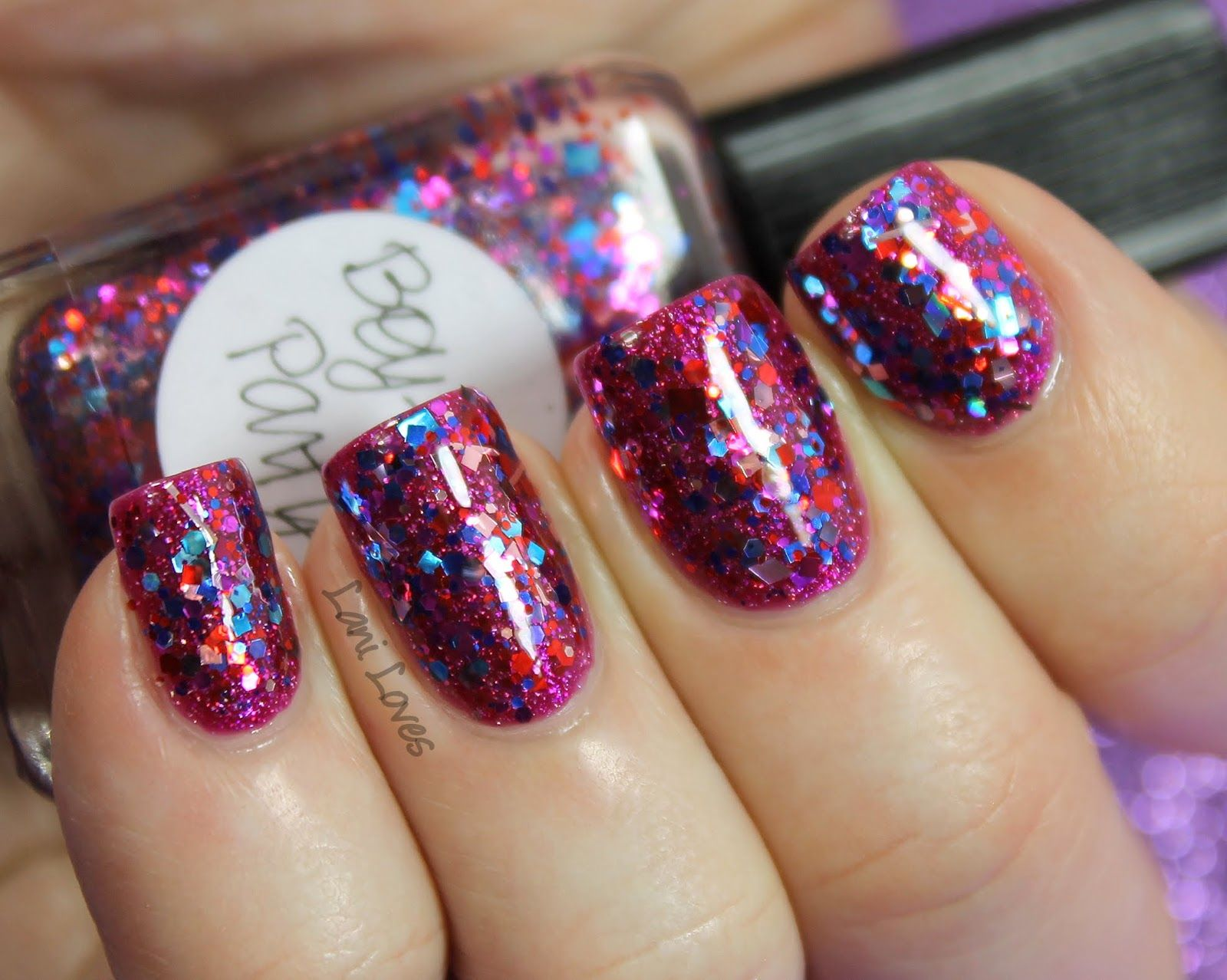 Lynnderella Boy-Girl Party nail polish swatch | Nails | Pinterest ...