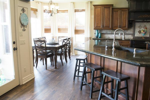 Waterproof Wood-look Flooring | Kitchen | Pinterest