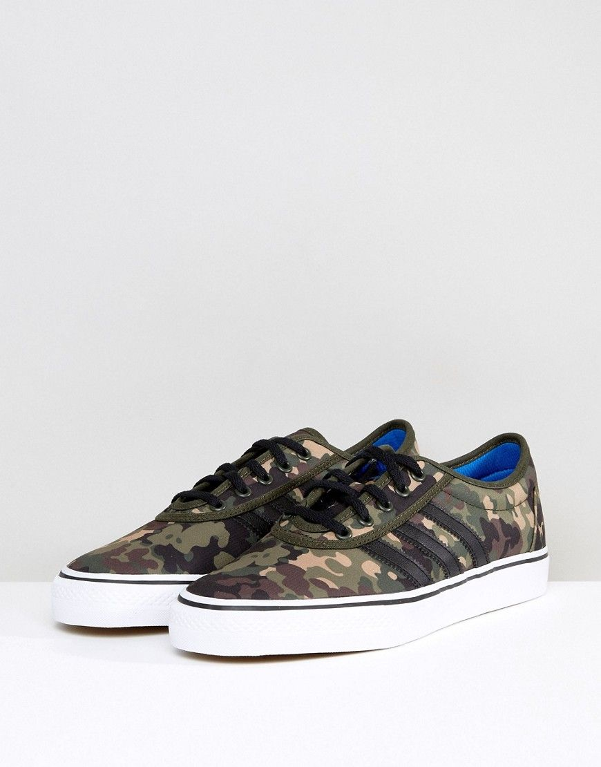dbddd4c025462 adidas Skateboarding Adi-Ease Sneakers In Camo BY4034   Products ...