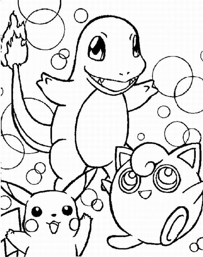 pokemon black coloring pages